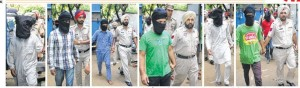 Fatehgarh Sahib police disclosed the arrest of seven Sikh youth on September 06, 2013