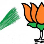 Aam Aadmi Party (L) and Bhartiya Janta Party (R) Symbols [File Photo]