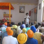 Kanwar Pal Singh Bittu addressing the gathering