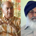 Shanta Kumar (L) - Parkash Singh Badal (R) File Photos