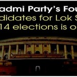 4th List of aap candidates