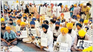 Sikhs at Sri Akal Takht Sahib on June 6, 2010 to Observe Holocaust Day