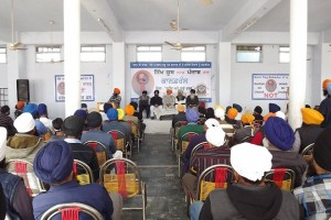 Another view of the conference organized by the Sikh Youth of Punjab
