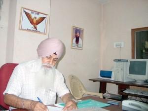 Dal Khalsa President Harcharanjit Singh Dhami