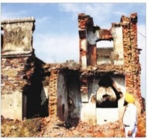 A genocide site at Hondh Cillar village in Rewari (Haryana)