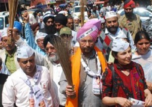Dr. Daljit Singh, AAP candidate from Amritsar