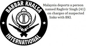 Malaysia deports a Sikh on alleged charges of links with BKI