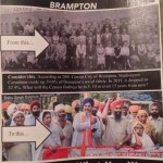Brampton Racist Flayer against the Sikhs