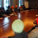 Sikh representatives meeting Jean Lambert MEP and other Green Party representatives