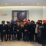 Sikh representatives pictured with Jean Lambert MEP