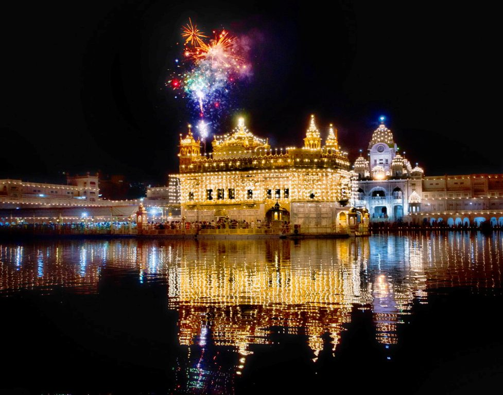 Issue Of Fireworks At Darbar Sahib On Diwali Caught In