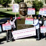 Demonstration for Truth on Gandhi