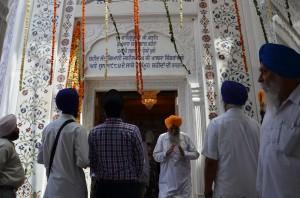 Gurdwara Yaadgaar Shaheedan - the memorial for martyrs of Saka June 1984