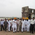 Justice (Retd) T. K. Garg visited Hondh Massacre site