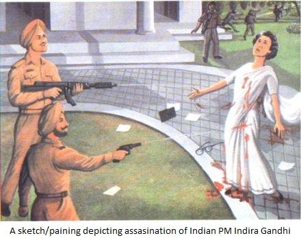 Indira gandhi death biography