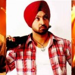 Jazzy B, Diljit Dosanjh and Honey Singh