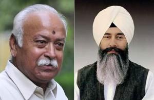 Mohan Bhagwat (L) - Gurinder Dhillon (R) [File Photos]