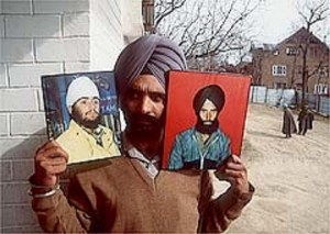 Nanak Singh survived, his youngest son, brother (in photos) and cousins did not.