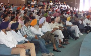 A view of audience at the Seminar
