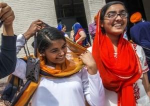 Jagjot Battu (16) and Hana Kaur (14)